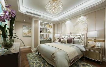 富裕型100平米三室两厅美式风格卧室装修案例