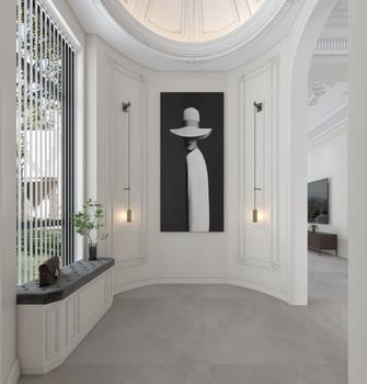 豪华型140平米法式风格玄关装修图片大全