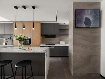 140平米一室三厅现代简约风格厨房设计图