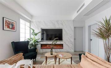 富裕型130平米三室两厅田园风格客厅图片