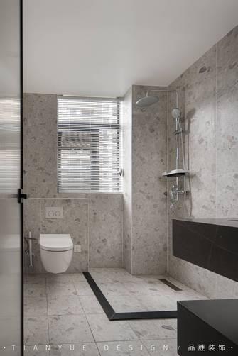 5-10万110平米三室两厅现代简约风格卫生间欣赏图