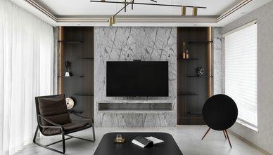 15-20万110平米四室两厅轻奢风格客厅效果图