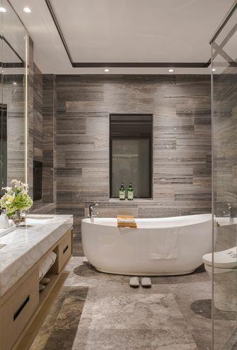 140平米复式轻奢风格卫生间装修案例