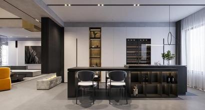 豪华型140平米四室两厅现代简约风格厨房图片大全