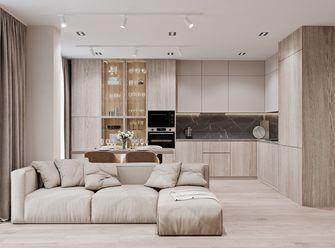 15-20万80平米三室两厅现代简约风格客厅效果图