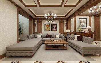 140平米别墅美式风格影音室效果图