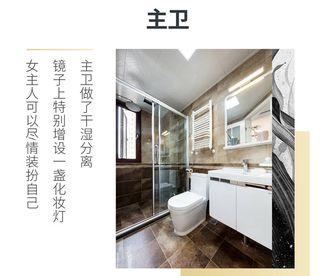 130平米四室两厅现代简约风格卫生间图片