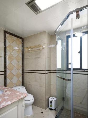 140平米三室一厅欧式风格卫生间图片大全