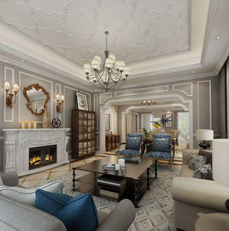 140平米欧式风格客厅设计图