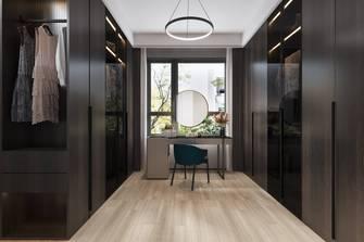 豪华型140平米四室两厅现代简约风格衣帽间图