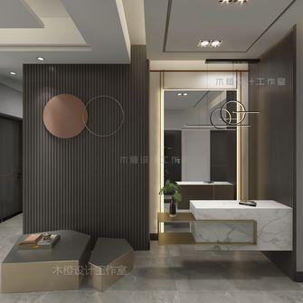 经济型120平米三室两厅混搭风格玄关图片