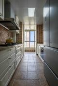 富裕型三室两厅美式风格厨房图片大全