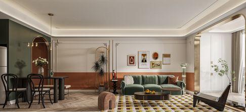 20万以上120平米三法式风格客厅设计图