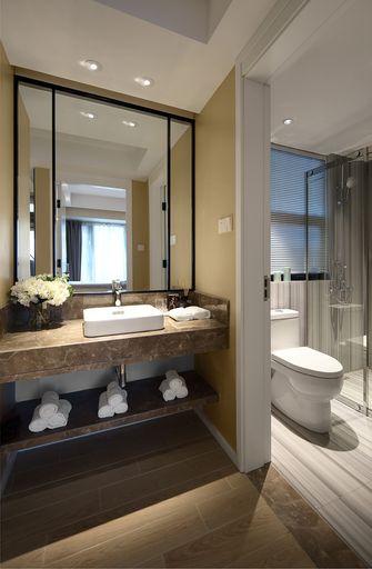 10-15万90平米三室两厅现代简约风格卫生间设计图