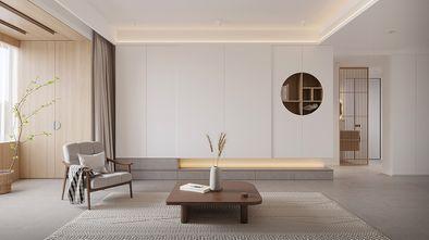 富裕型140平米四室两厅日式风格客厅图