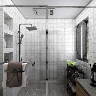 5-10万80平米日式风格卫生间装修效果图