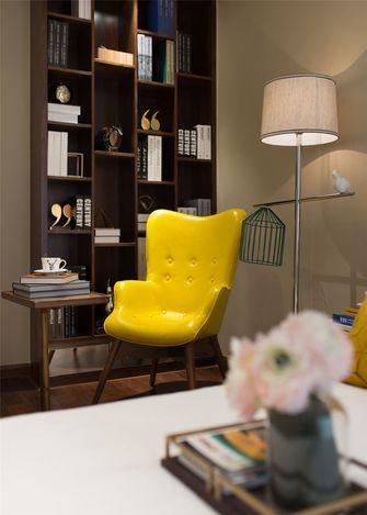 豪华型100平米三室一厅北欧风格书房欣赏图