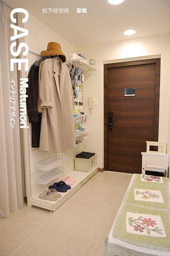 20万以上80平米公寓日式风格玄关装修图片大全
