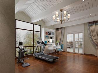 豪华型140平米别墅中式风格健身房效果图
