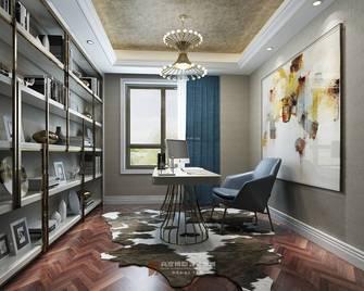豪华型140平米复式欧式风格书房装修案例