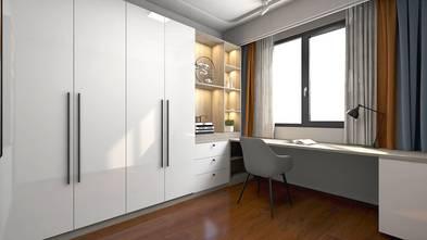 富裕型140平米四室两厅现代简约风格书房欣赏图