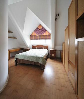 20万以上140平米别墅田园风格卧室图片