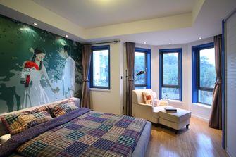 经济型80平米三现代简约风格卧室效果图