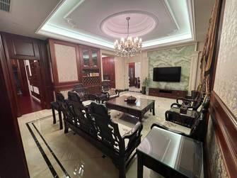 豪华型140平米四室四厅中式风格客厅图片大全