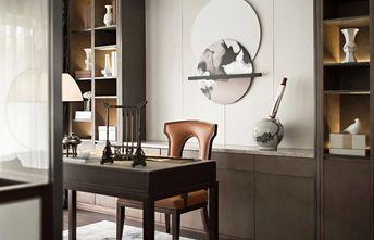 130平米三室一厅新古典风格书房图片