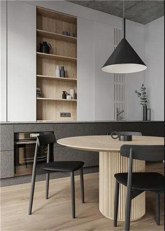 经济型70平米一室一厅现代简约风格餐厅图片大全