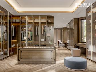 20万以上140平米别墅中式风格衣帽间设计图