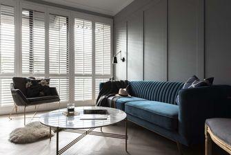 经济型三室一厅美式风格客厅图