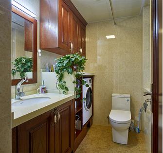 经济型130平米三室三厅现代简约风格卫生间图片大全