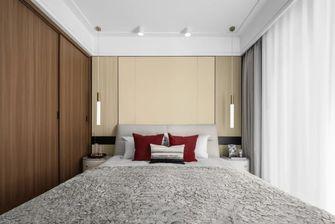 经济型120平米现代简约风格卧室图