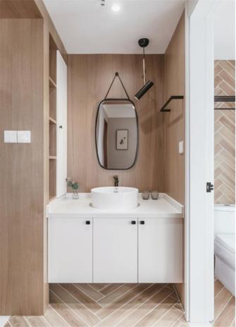 经济型100平米三室两厅日式风格卫生间欣赏图