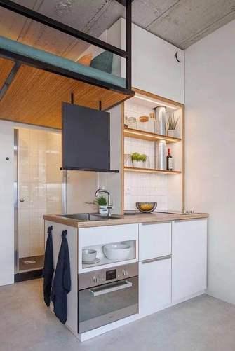 30平米小户型现代简约风格餐厅装修图片大全