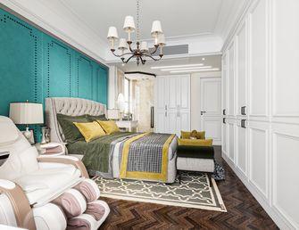 富裕型140平米三室两厅欧式风格卧室装修效果图