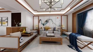 120平米三室两厅中式风格客厅欣赏图
