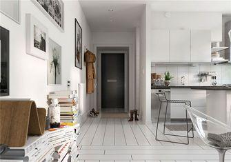 富裕型60平米一室一厅北欧风格玄关欣赏图