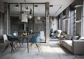20万以上140平米三室一厅工业风风格客厅装修效果图