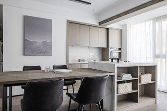 140平米三室两厅现代简约风格餐厅图