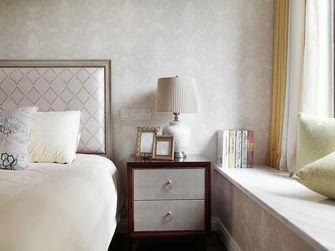 富裕型90平米三室两厅美式风格卧室效果图