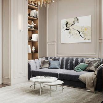 80平米公寓轻奢风格卧室图片