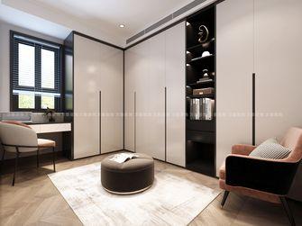 10-15万120平米三室两厅现代简约风格衣帽间图