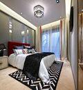 130平米美式风格卧室装修案例