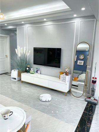 富裕型100平米三室两厅现代简约风格客厅欣赏图