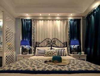 110平米三地中海风格卧室图片大全