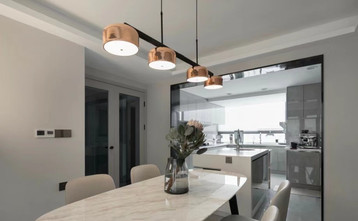 140平米现代简约风格厨房图片大全