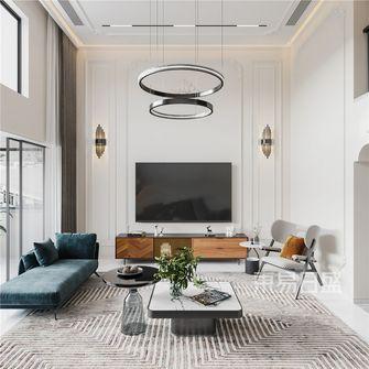 140平米三室两厅法式风格客厅装修图片大全