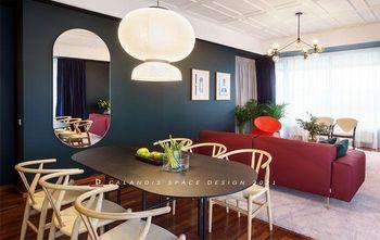 富裕型120平米北欧风格餐厅图片
